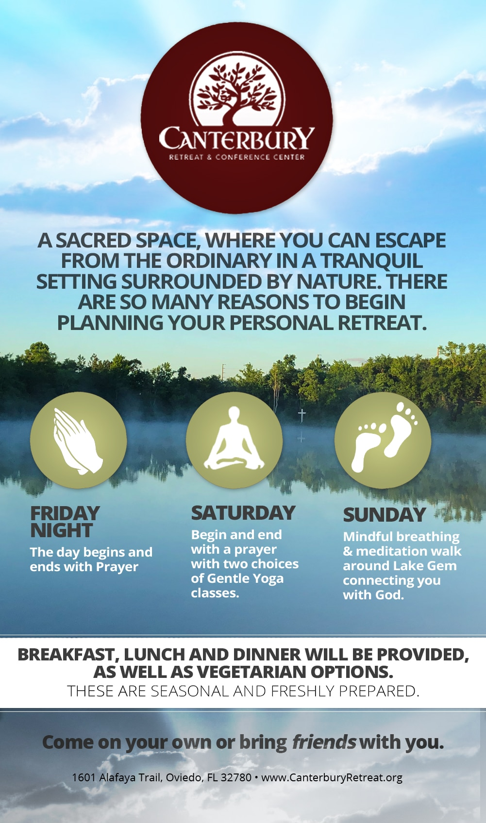 Personal Retreat Special