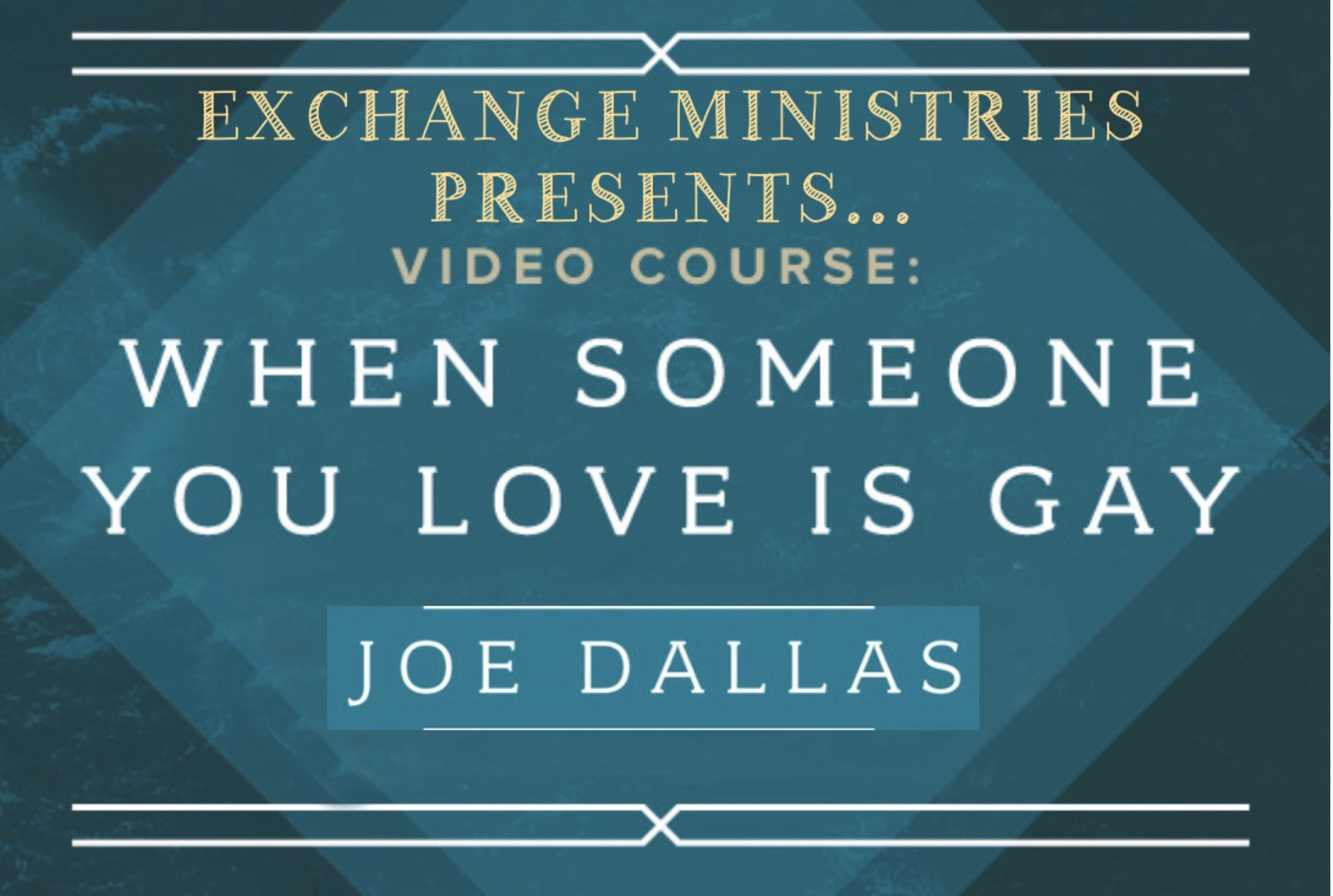 """""""When Someone You Love is Gay"""" – Virtual Workshop"""
