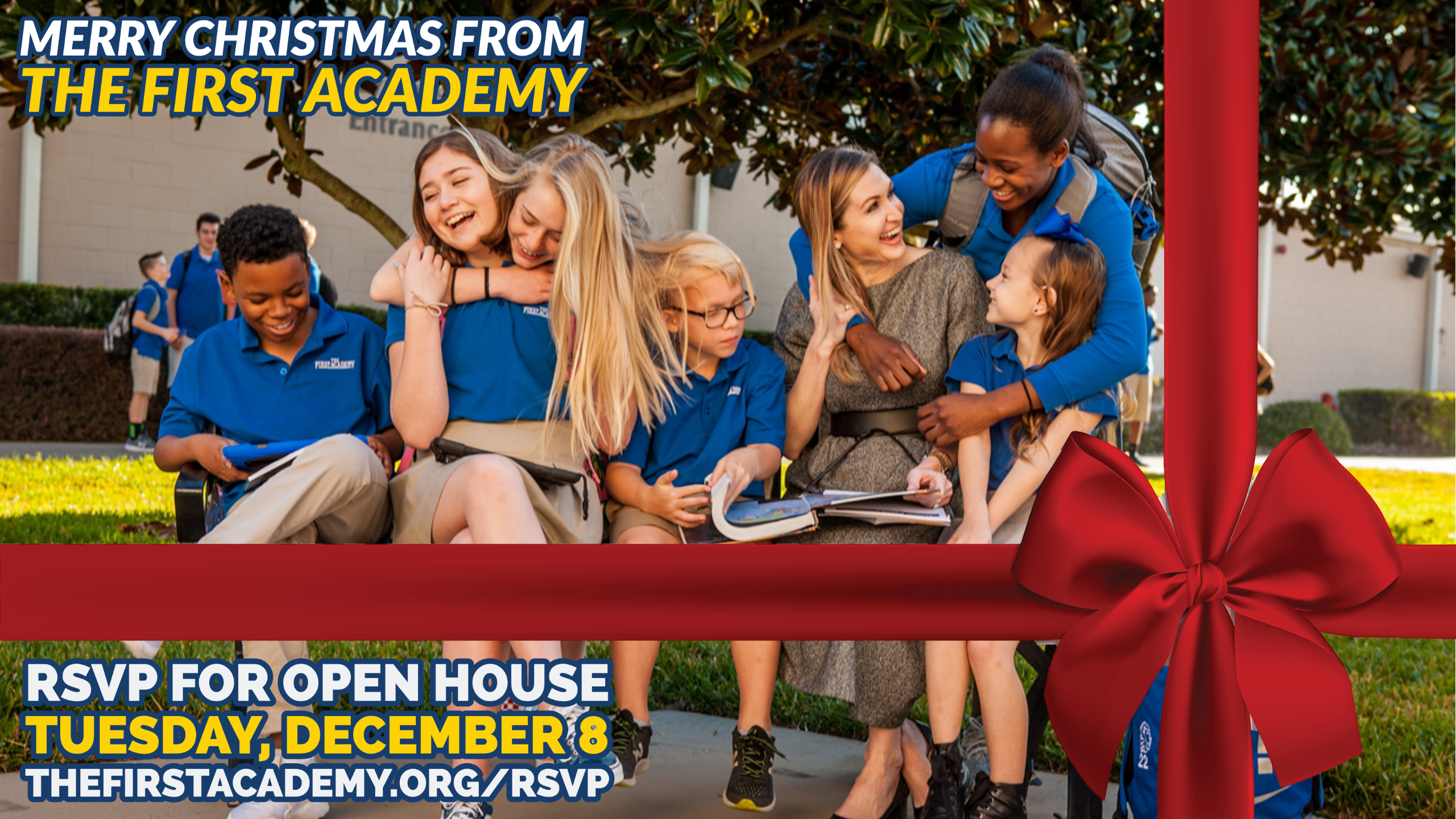 Happy Holidays Admissions Open House Event
