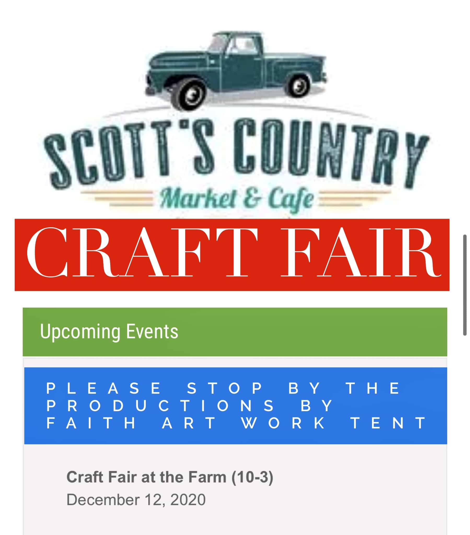 Craft Fair at the Farm